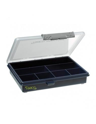 Assorter 6-7- RAACO -caja con 7 compartimentos fijos