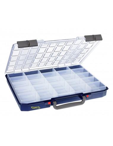 Carry lite 55 5x10-25/1-RAACO-caja organizadora con 25 compartimentos