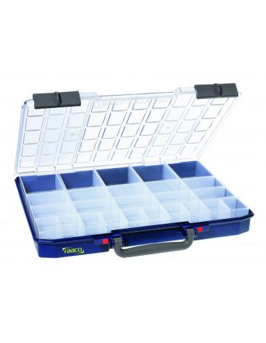 Carry lite 55 5x10-25/2-RAACO-caja 25 compartimentos