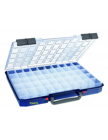 Carry lite 55 5x10-50-RAACO-caja 50 compatimentos