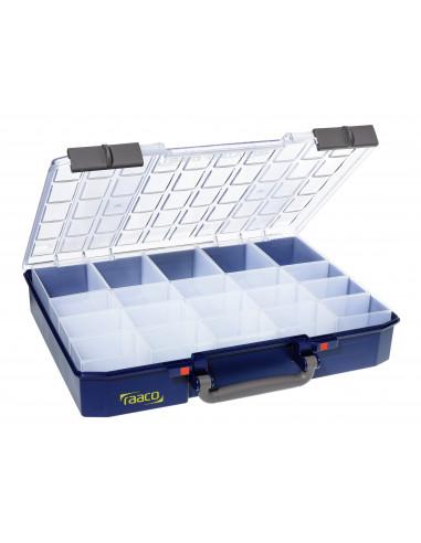 Carry lite 80 5x10-20_RAACO-caja con 20 compartimentos